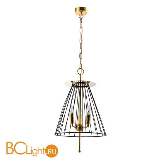Подвесной светильник Crystal lux MODESTO SP3 BLACK/GOLD