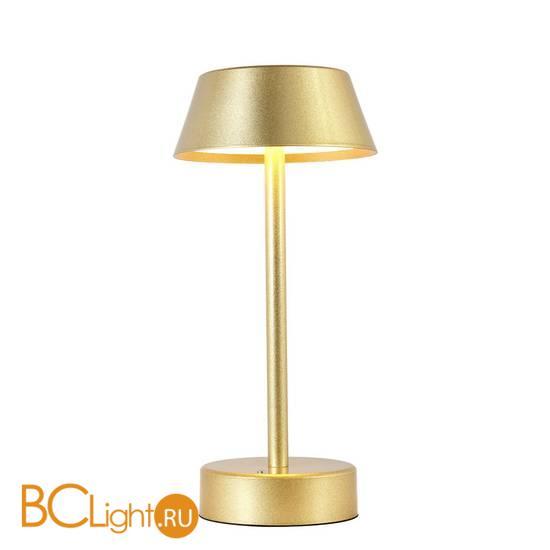 Настольная лампа Crystal lux SANTA LG1 GOLD