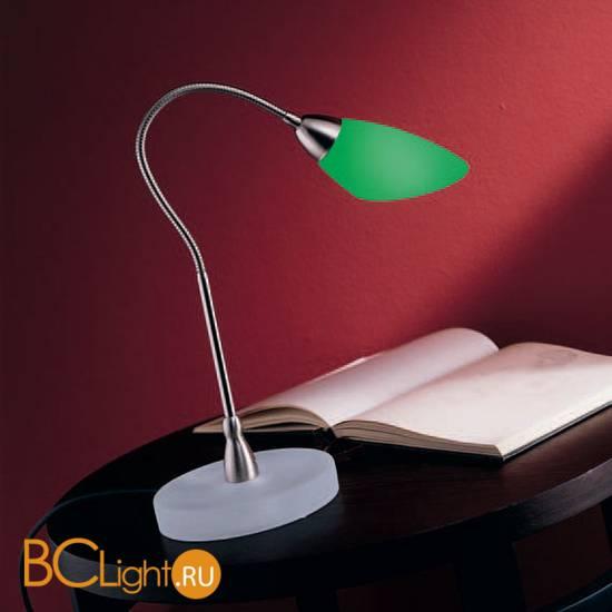 Настольная лампа De Majo POLI PO L 0POLI0L-0 green