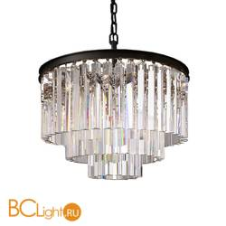 Подвесной светильник DeLight Collection 1920s Odeon KR0387P-6 black/clear