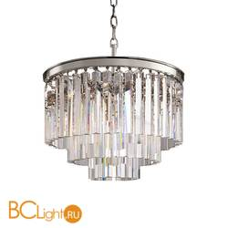 Подвесной светильник DeLight Collection 1920s Odeon KR0387P-6 chrome/clear