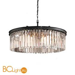 Подвесной светильник DeLight Collection 1920s Odeon KR0387P-10B black/clear