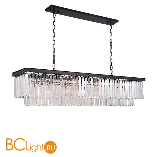 Подвесной светильник DeLight Collection 1920s Odeon KR0387P-12C/P black/clear