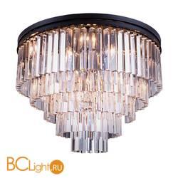 Потолочный светильник DeLight Collection 1920s Odeon KR0387C-10A/P black/clear