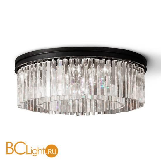 Потолочный светильник DeLight Collection 1920s Odeon KR0387C-10B/P black/clear
