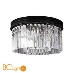 Потолочный светильник DeLight Collection 1920s Odeon KR0387C-6B/P black/clear