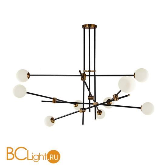 Люстра DeLight Collection Bistro Globe 9 9389P/9 black/gold