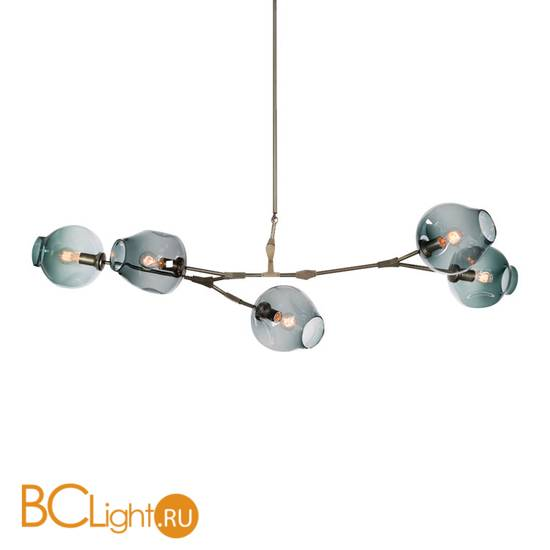 Люстра DeLight Collection Bubble KG0579P-5 smoky
