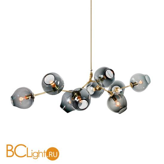 Люстра DeLight Collection Bubble KG0579P-9B smoky