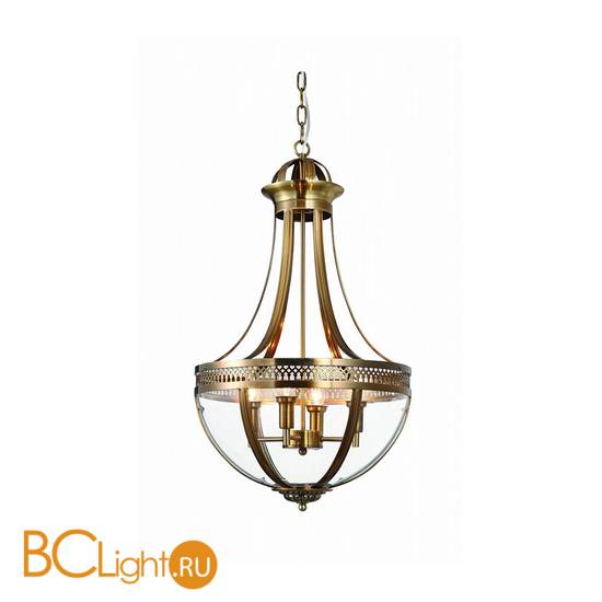 Подвесной светильник DeLight Collection Capitol KM0287P-4 antique brass