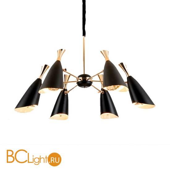 Люстра DeLight Collection Duke 9099P-6 black/gold