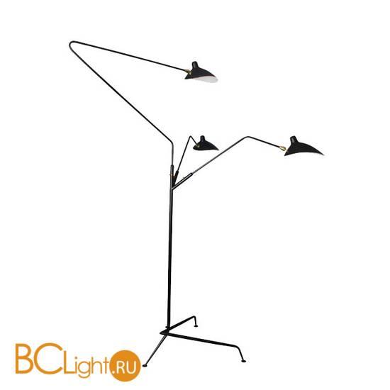 Торшер DeLight Collection Floor Lamp TF8505-3 black