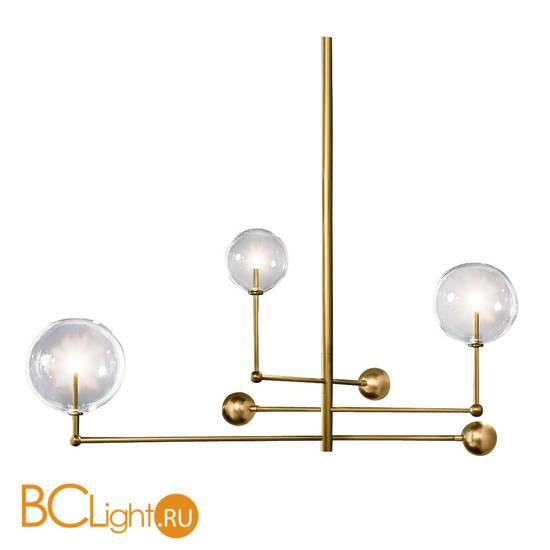 Люстра DeLight Collection Globe Mobile KG0835P-3 brass