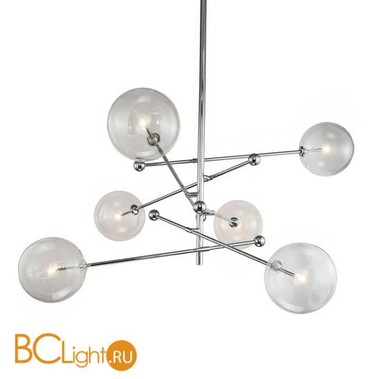 Люстра DeLight Collection Globe Mobile KG0835P-6 chrome