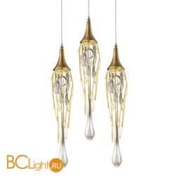 Подвесной светильник DeLight Collection Goddess Tears PR68009M-3/R gold