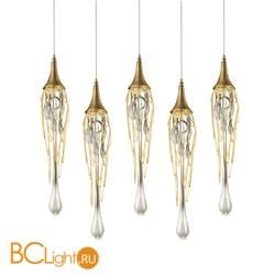 Подвесной светильник DeLight Collection Goddess Tears PR68009L-5H gold