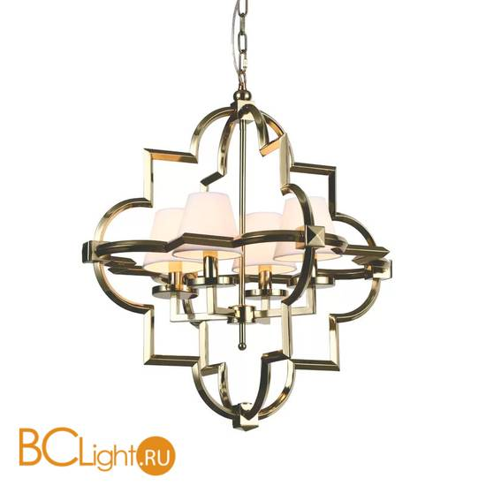Люстра DeLight Collection Mandeville KM0728P-4M brass