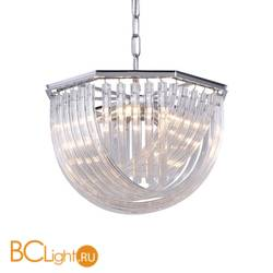 Подвесной светильник DeLight Collection Murano Glass KR0116P-5R/A chrome