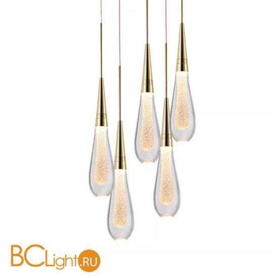 Подвесной светильник DeLight Collection Pour 9905P/5 gold