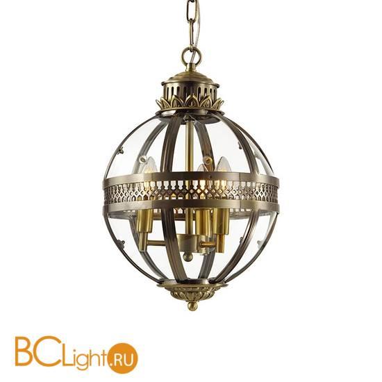 Подвесной светильник DeLight Collection Residential KM0115P-3S antique brass