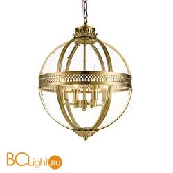 Подвесной светильник DeLight Collection Residential KM0115P-4M antique brass