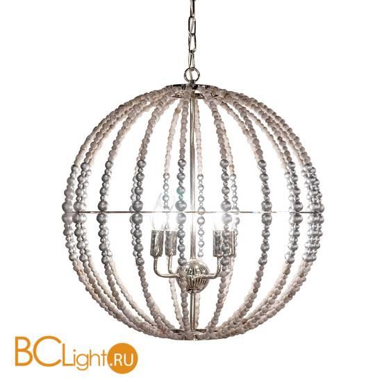Подвесной светильник DeLight Collection Wood Light KW0782P-4 silver