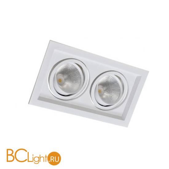 Встраиваемый светильник Donolux Atom DL18893/02 White SQ