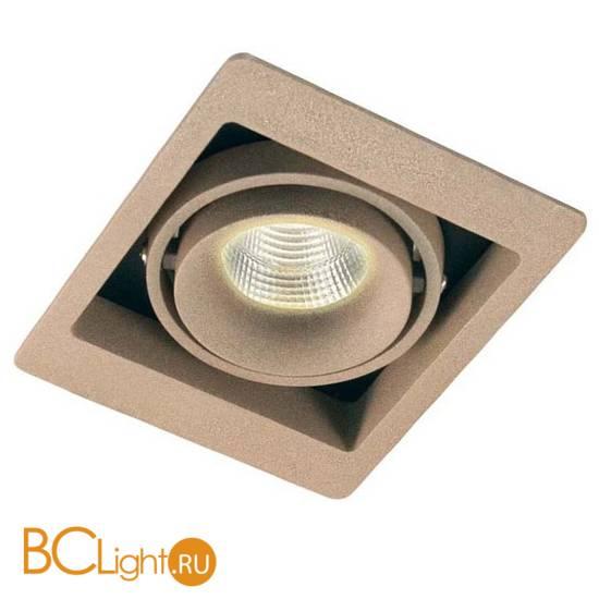 Встраиваемый спот (точечный светильник) Donolux DL18615/01WW-SQ Champagne/Black
