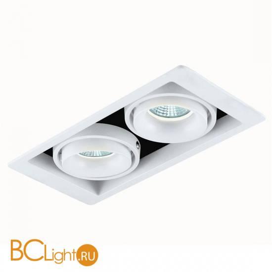 Встраиваемый спот (точечный светильник) Donolux DL18615/02WW-SQ White/Black