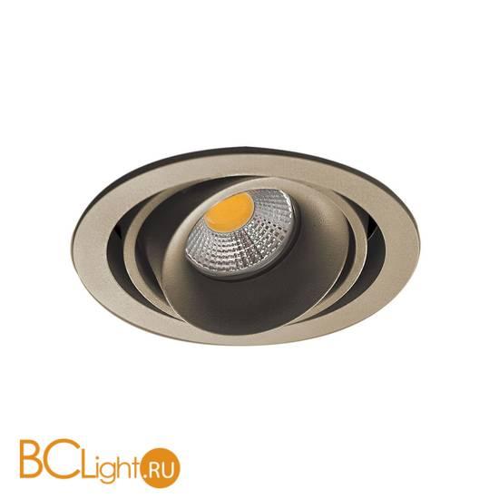 Встраиваемый светильник Donolux Lumme DL18615/01WW-R Champagne/Black