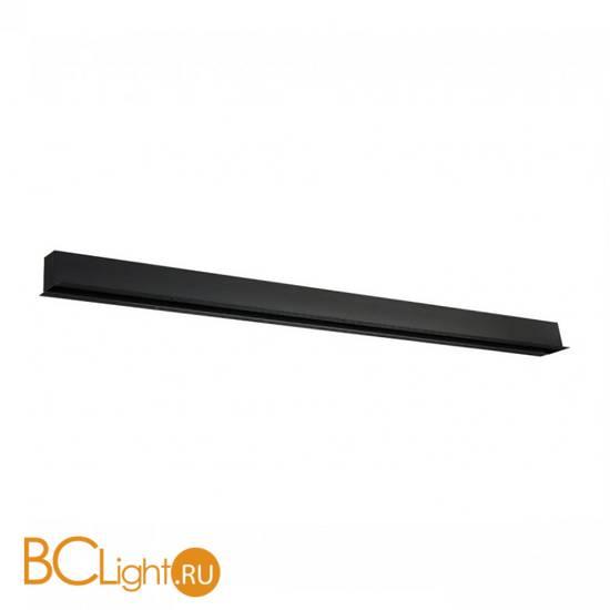 Встраиваемый магнитный шинопровод Donolux DLM013/Black 3м черный