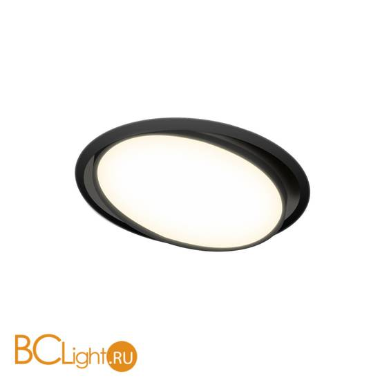 Встраиваемый светильник Donolux Moon DL18813/23W Black R