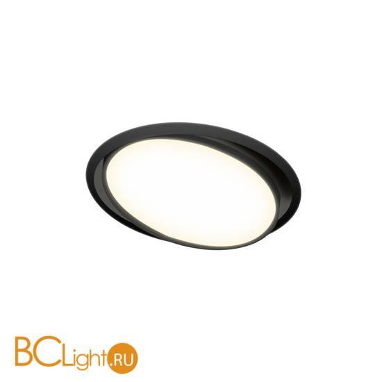 Встраиваемый светильник Donolux Moon DL18813/9W Black R