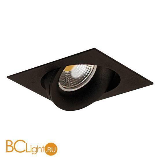 Встраиваемый спот (точечный светильник) Donolux DL18412/01TSQ Black