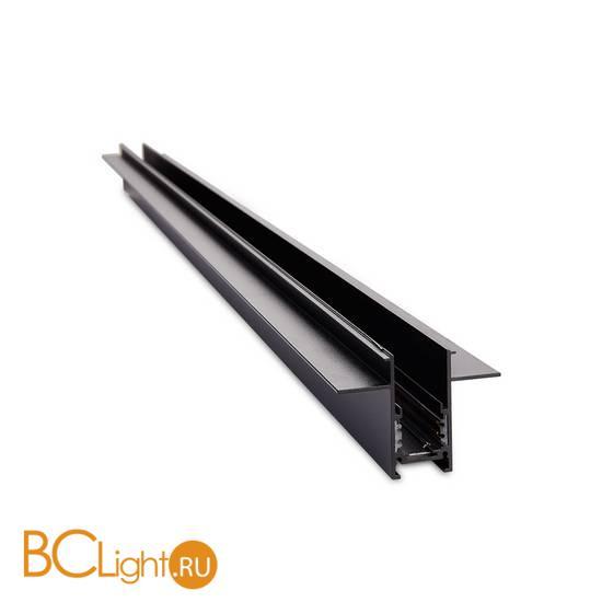 Шинопровод магнитный встраиваемый Donolux SPACE-Track system DLT2500InB черный, без заглушек, без провода