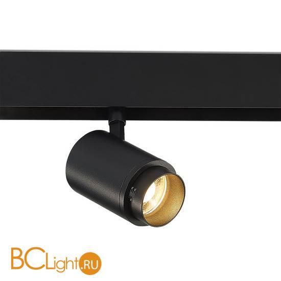 Трековый светильник для магнитного шинопровода Donolux SPACE-Track system Pratica DL20300WW15BZ 15W 3000K 1288Lm черный