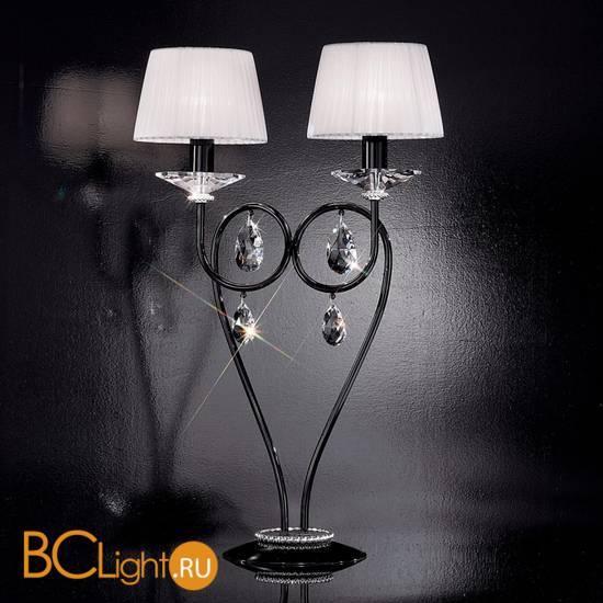 Настольная лампа Effusionidiluce Zelia 5000.4021 Swarowsky Strass