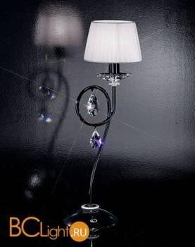 Настольная лампа Effusionidiluce Zelia 5000.3011 Spectra Crystals