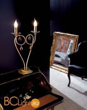 Настольная лампа Effusionidiluce Zelia 5000.4029 Swarowsky Strass
