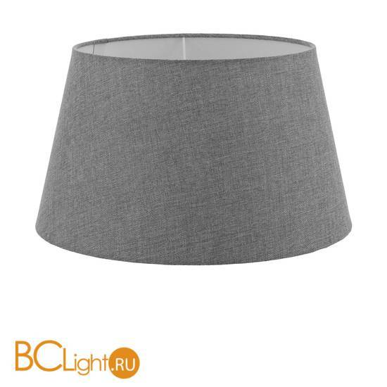 Абажур серого цвета Eglo 1+1 Vintage 49575