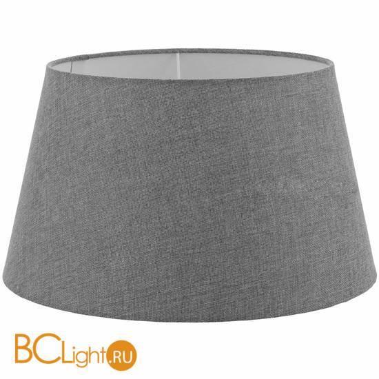 Абажур серого цвета Eglo 1+1 Vintage 49655