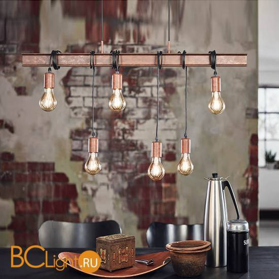 Подвесной светильник Eglo Ownshend 4 49859