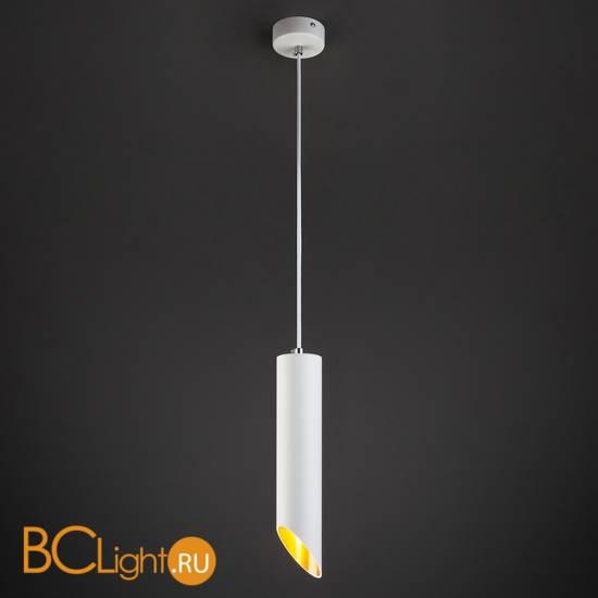 Подвесной светильник Elektrostandard 7011 MR16 WH/GD белый/золото