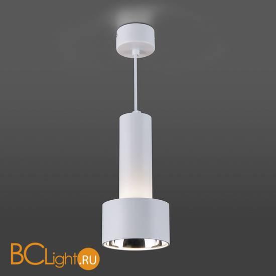 Подвесной светильник Elektrostandard DLR033 9W 4200K 3300 белый/хром