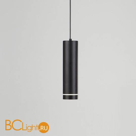Подвесной светильник Elektrostandard DLR023 12W 4200K черный матовый