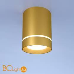 Потолочный точечный светильник Elektrostandard Topper DLR021 9W 4200K золото матовый