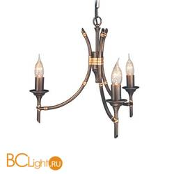Люстра Elstead Lighting Bamboo BB3 BRZ PATINA