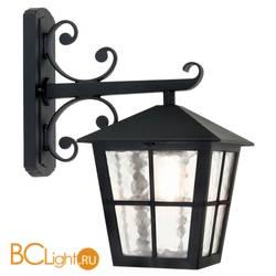 Уличный настенный светильник Elstead Lighting Canterbury BL52M BLACK