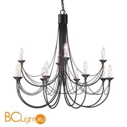 Люстра Elstead Lighting Carisbrooke CB12 BLACK