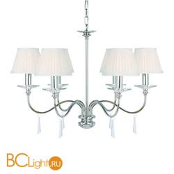Люстра Elstead Lighting Finsbury FP6 POL NICKEL + 6x LS162